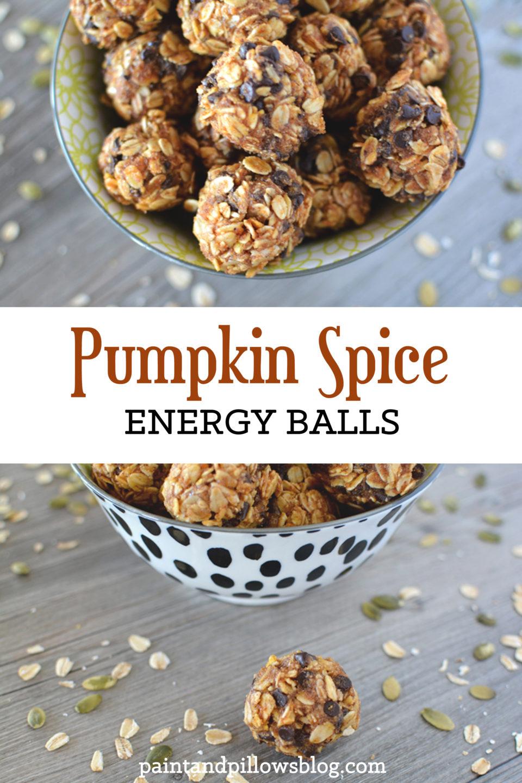 Pumpkin Spice Energy Balls (and a Pumpkin Round-Up)