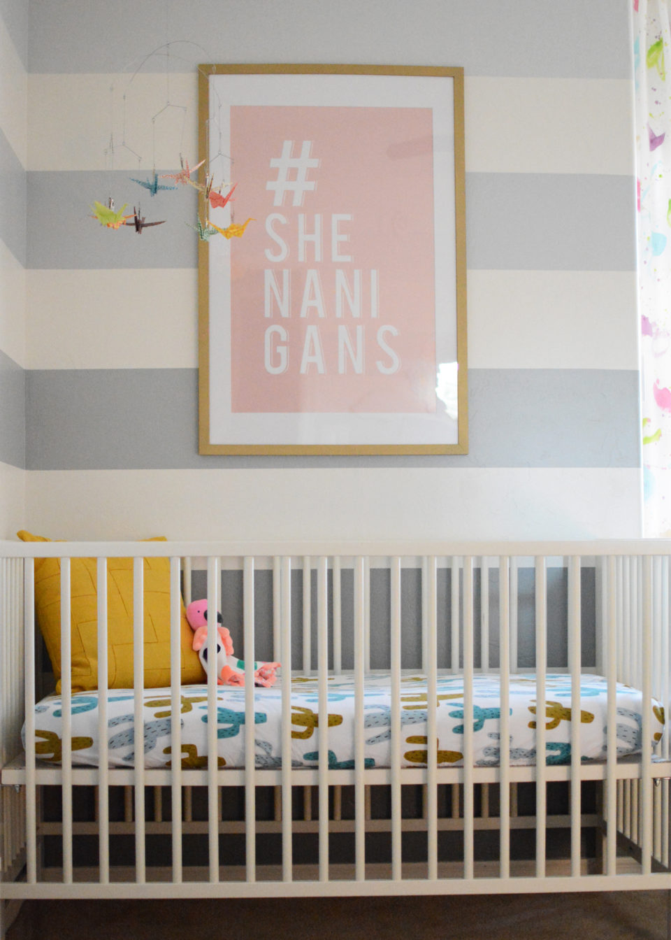 Charlie's Colorful Modern Nursery