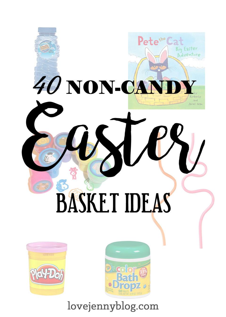 40 Non-Candy Easter Basket Ideas