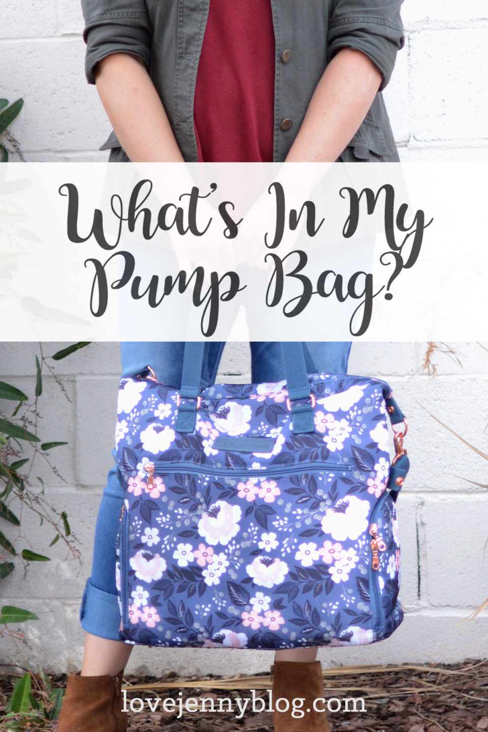 What's In My Pump Bag?