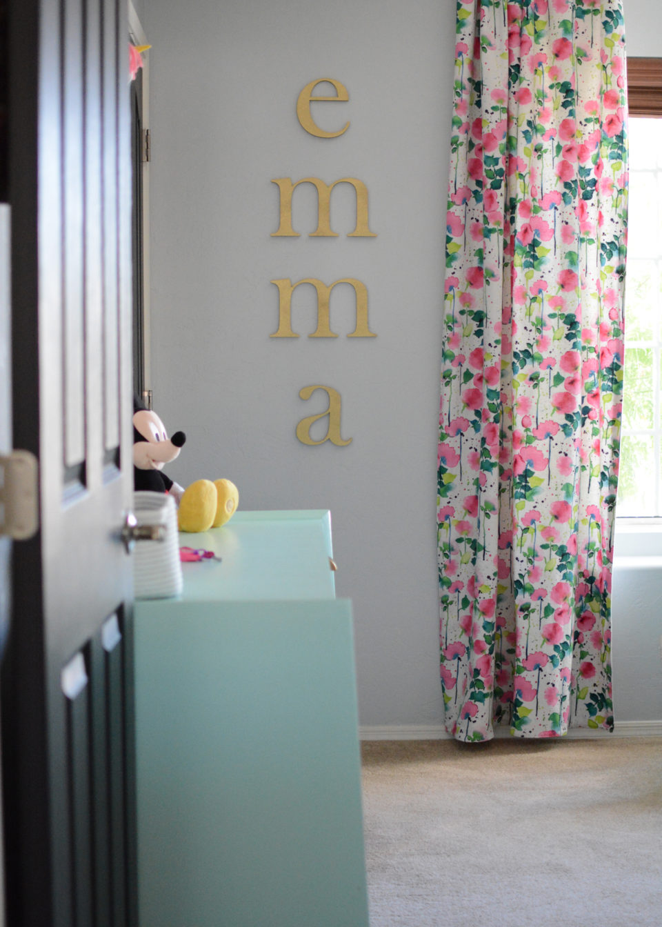 Emma's Fun & Eclectic Big Girl Room