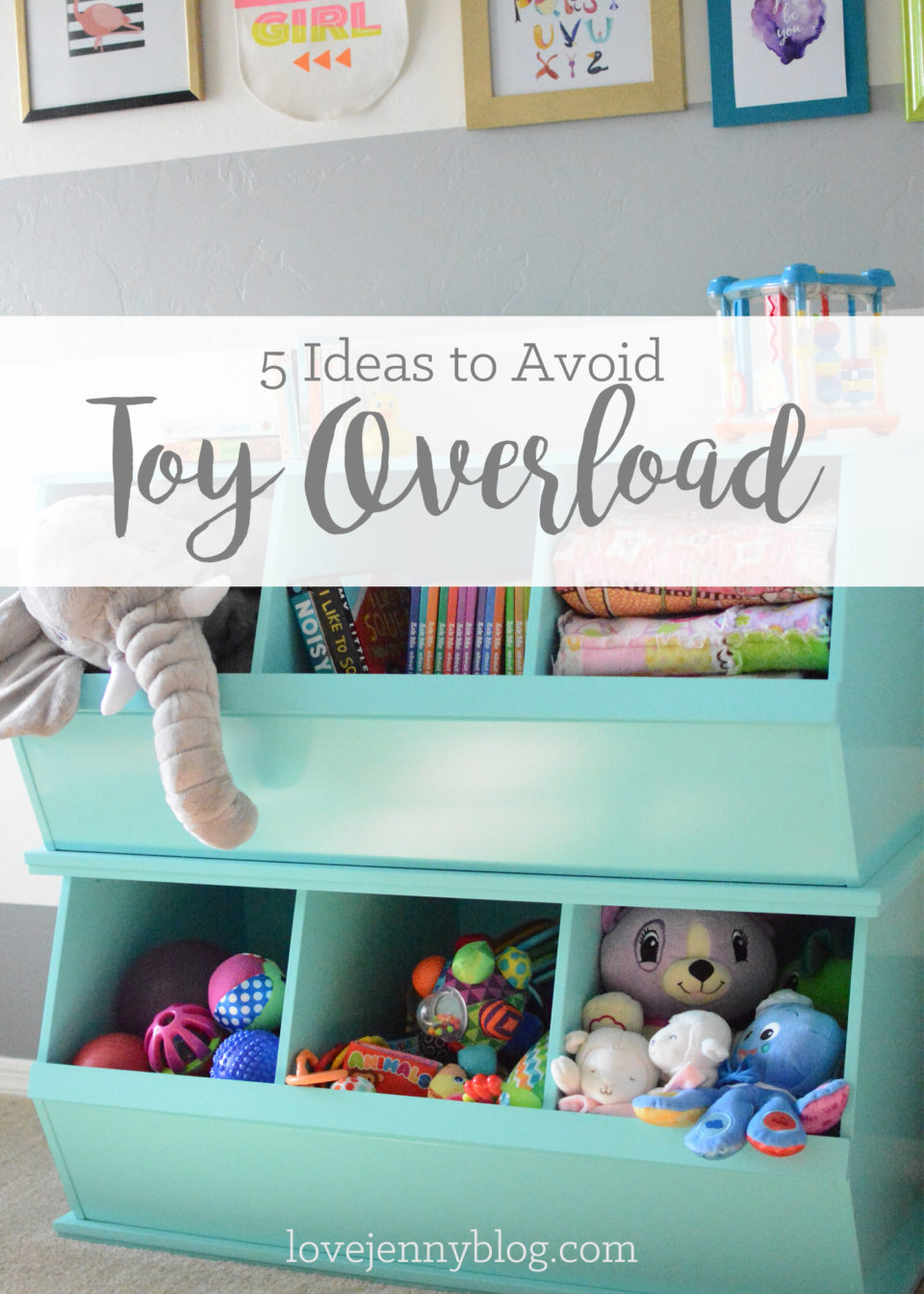 5 Ideas to Avoid Toy Overload {Guest Post}