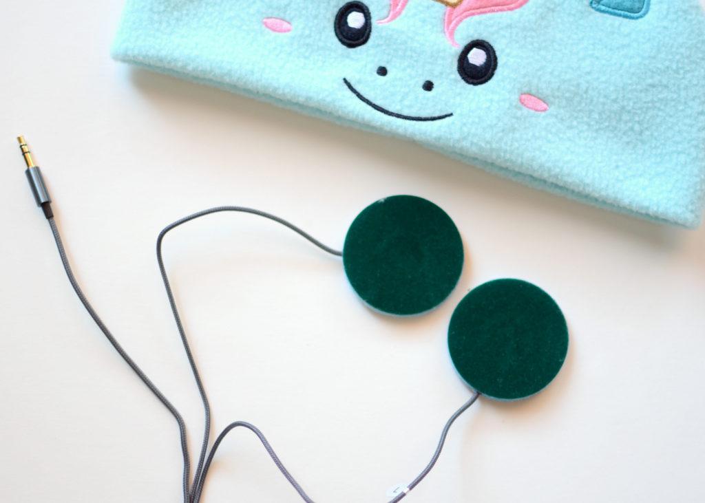 CozyPhones soft padded speaker