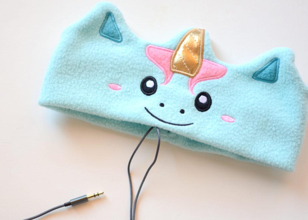 CozyPhones Unicorn Headband Headphones