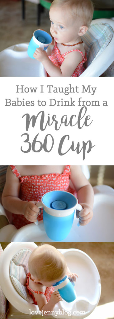 how to drink from a miracle 360 cup