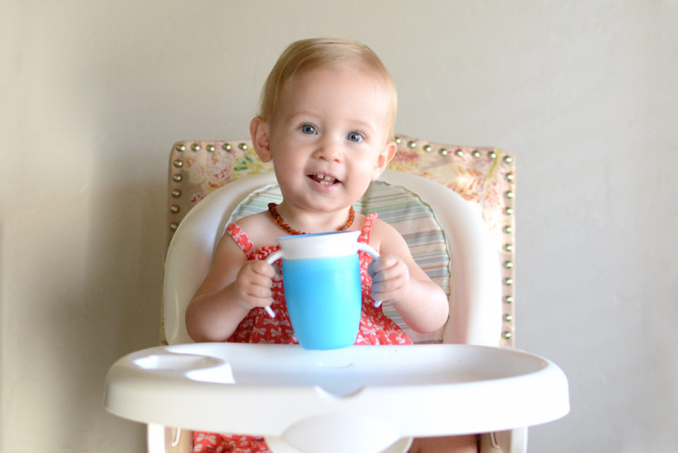 How I Taught My Babies to Drink from a Miracle 360 Cup