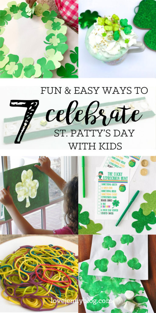 7 Fun & Easy Ways to Celebrate St. Patty's Day with Kids