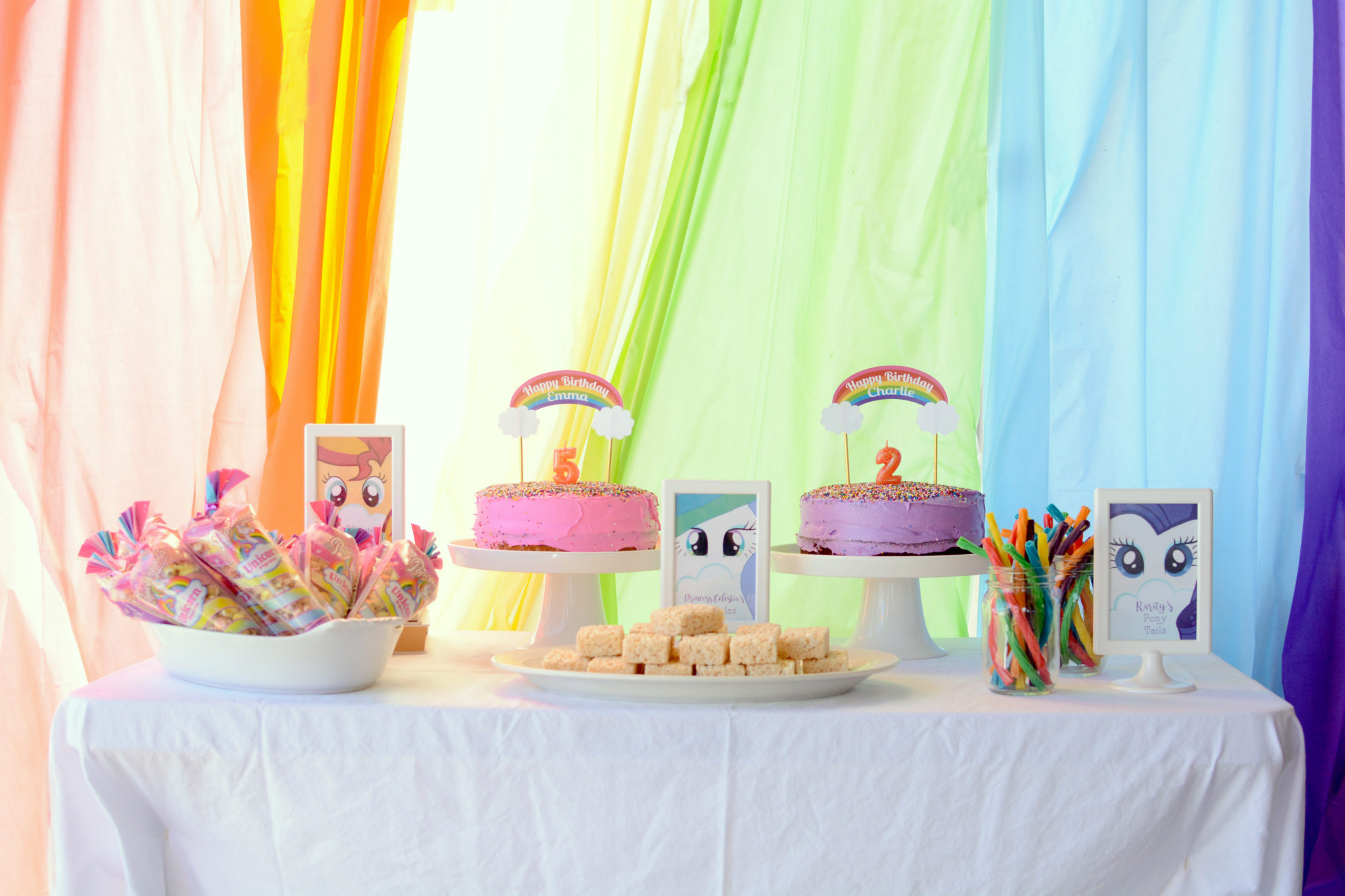 Pleasing A Magical My Little Pony Birthday Party Plus Free Printables Funny Birthday Cards Online Alyptdamsfinfo