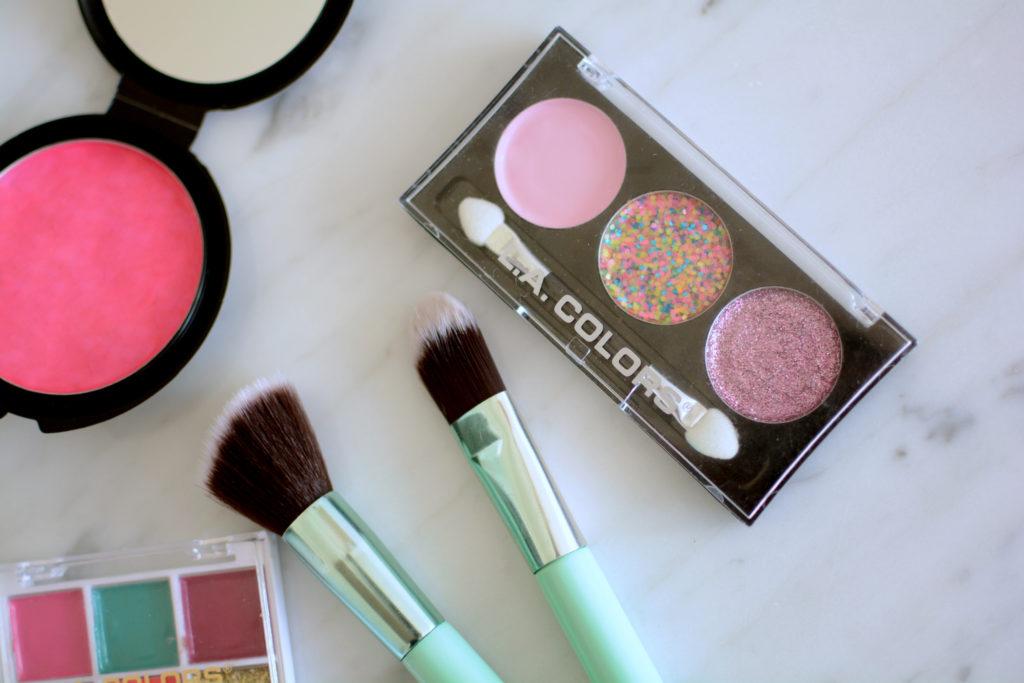 DIY pretend makeup